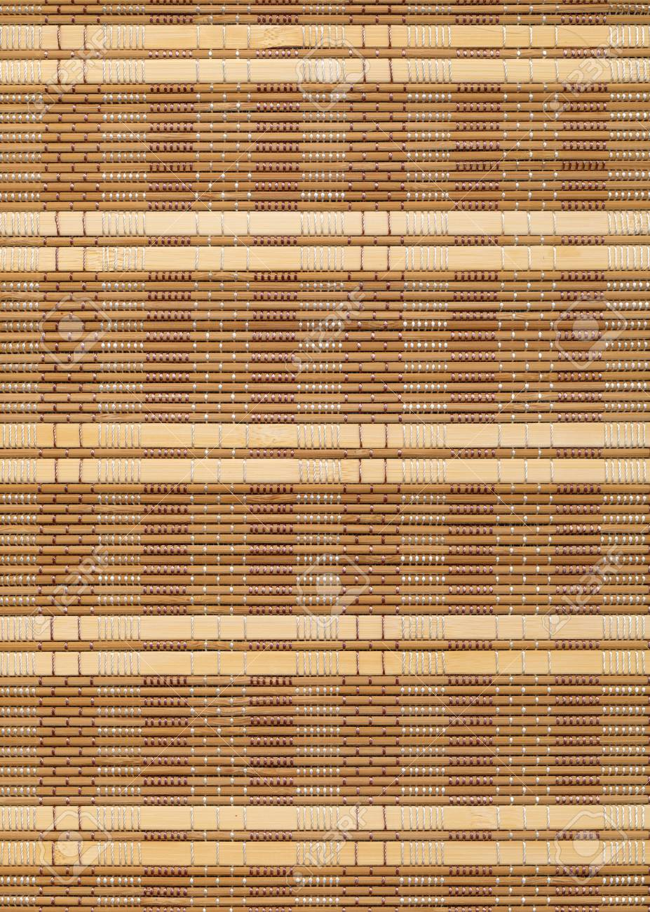 Superbe Bamboo Table Cloth Background Stock Photo   18227329