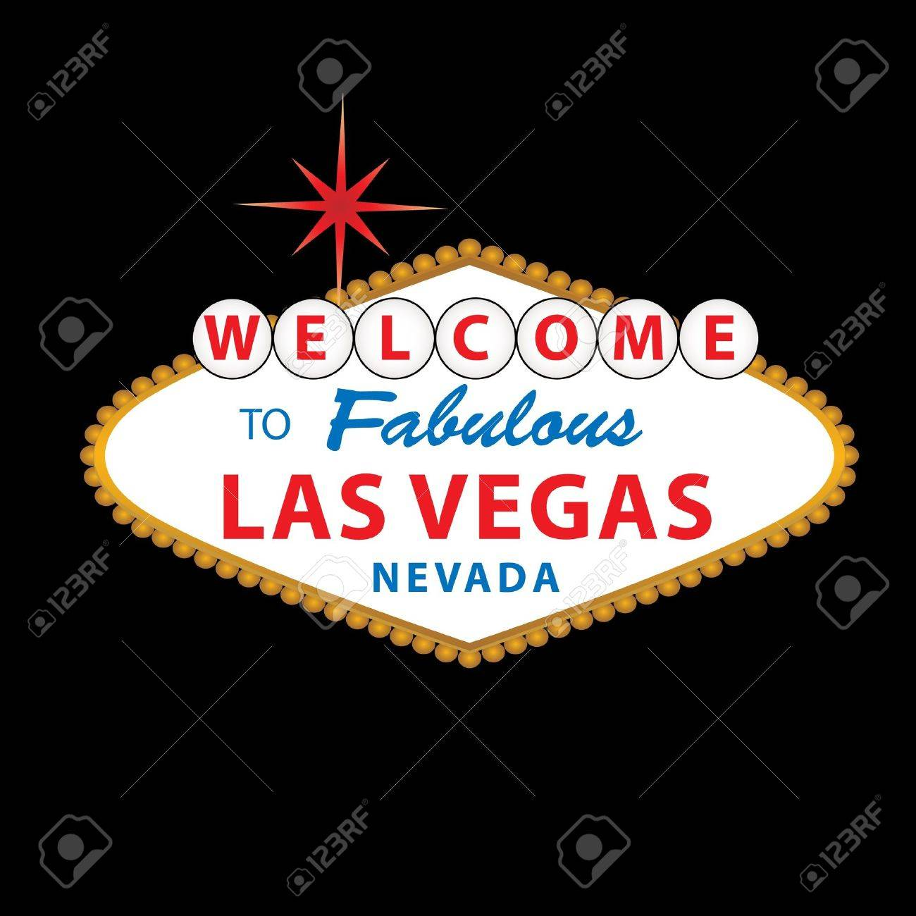 Welcome to Fabulous Las Vegas Nevada sign Stock Photo - 7110525