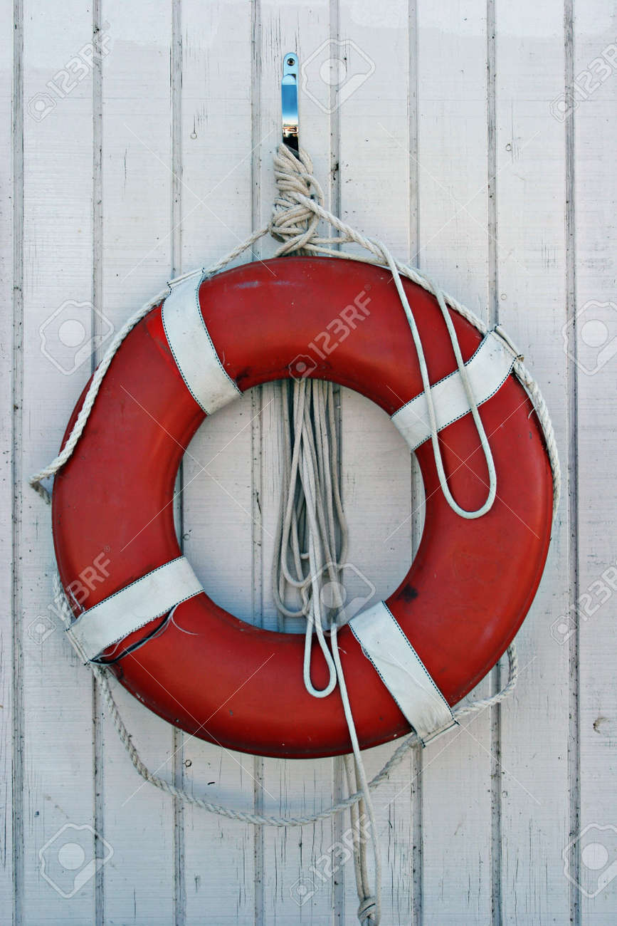 lifesaver of a boat stock photo picture and royalty free image