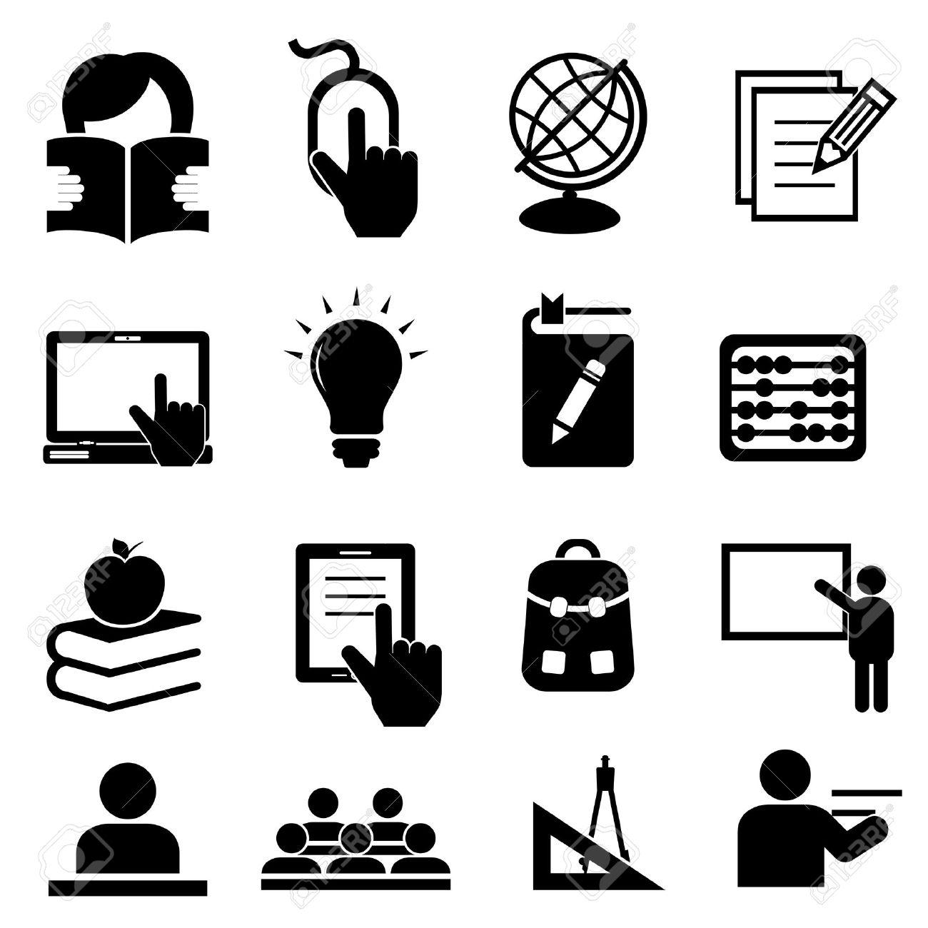 Back to school icon set - 21409555