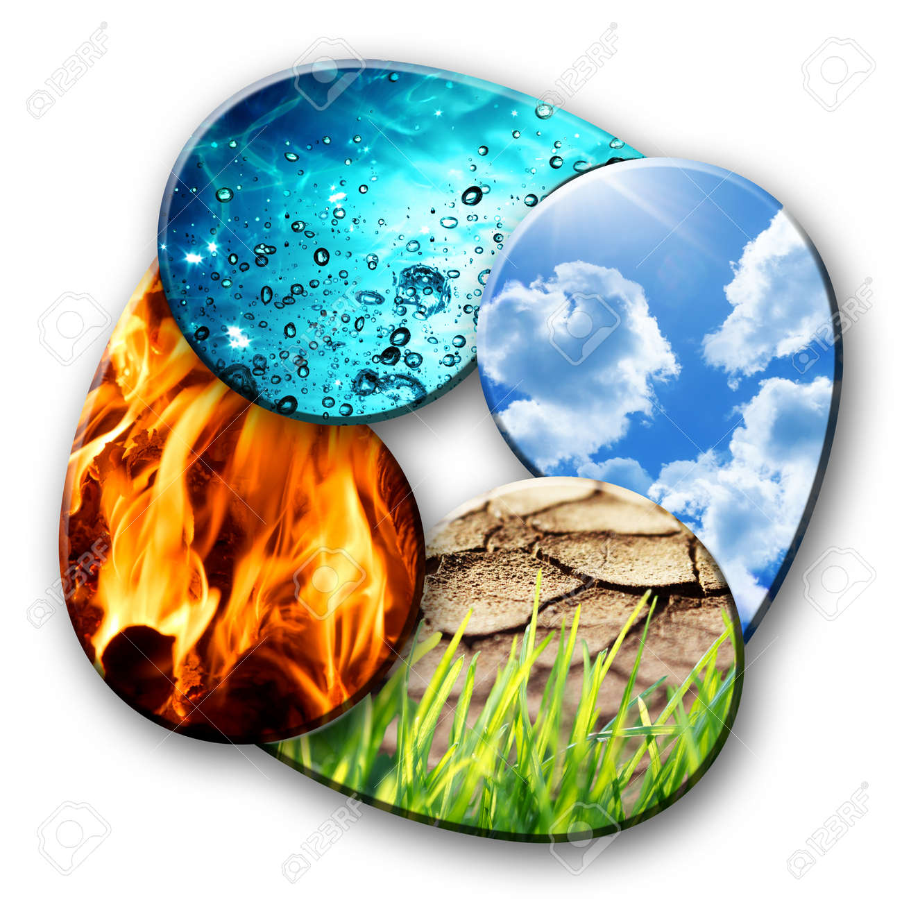 Four Elements Of Nature Stock P O 30223497