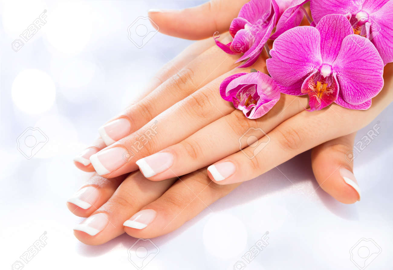 Image result for free pic french nail