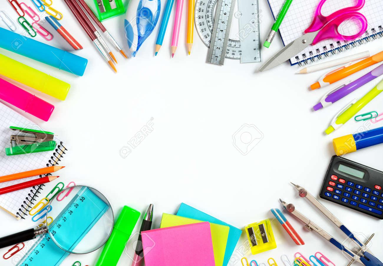 De Nuevo A La Escuela - Escuela De Encuadre De Papelería Para La ...