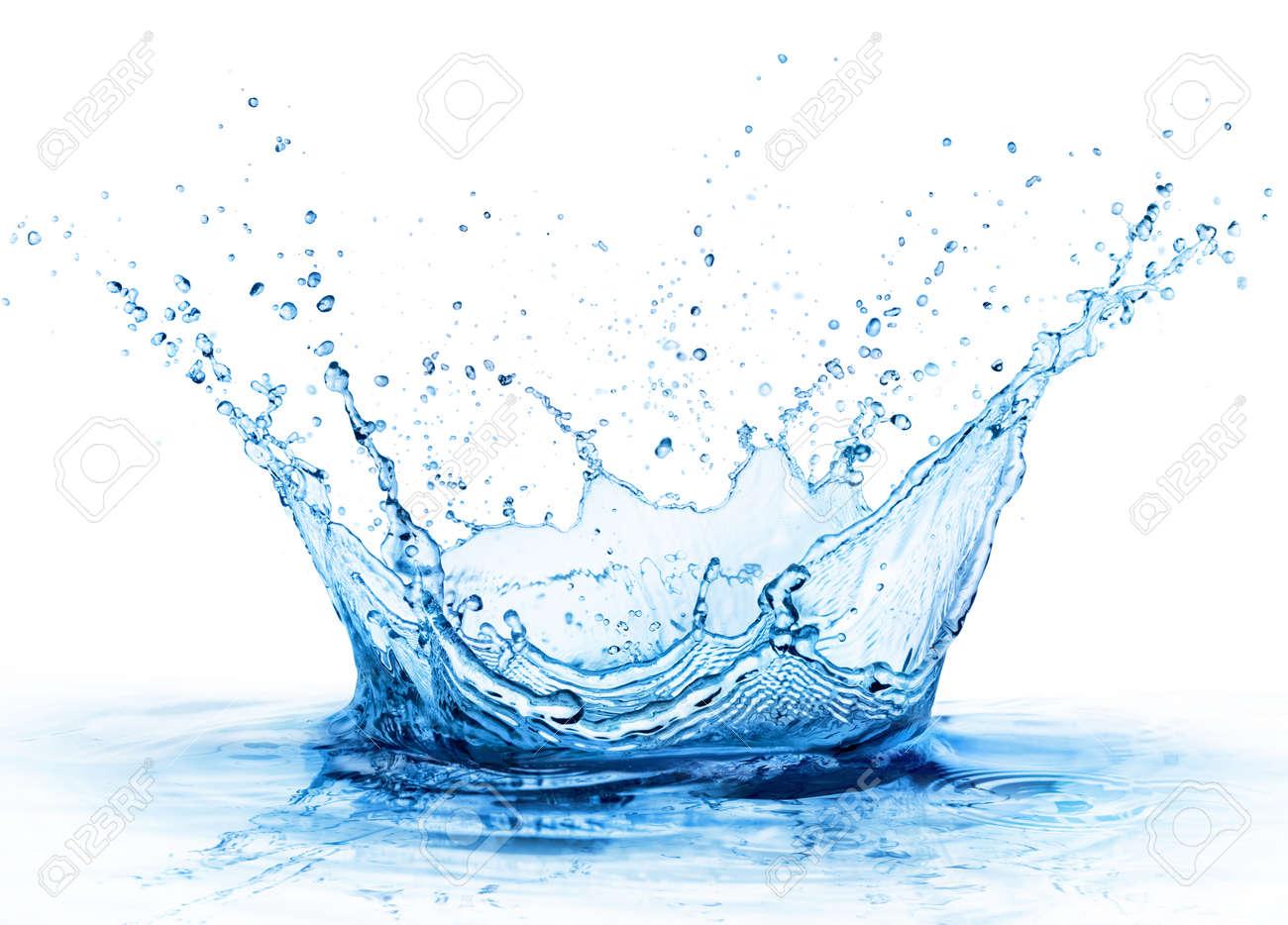 Splash - Fresh Drop In Water - Close Up - 81761103