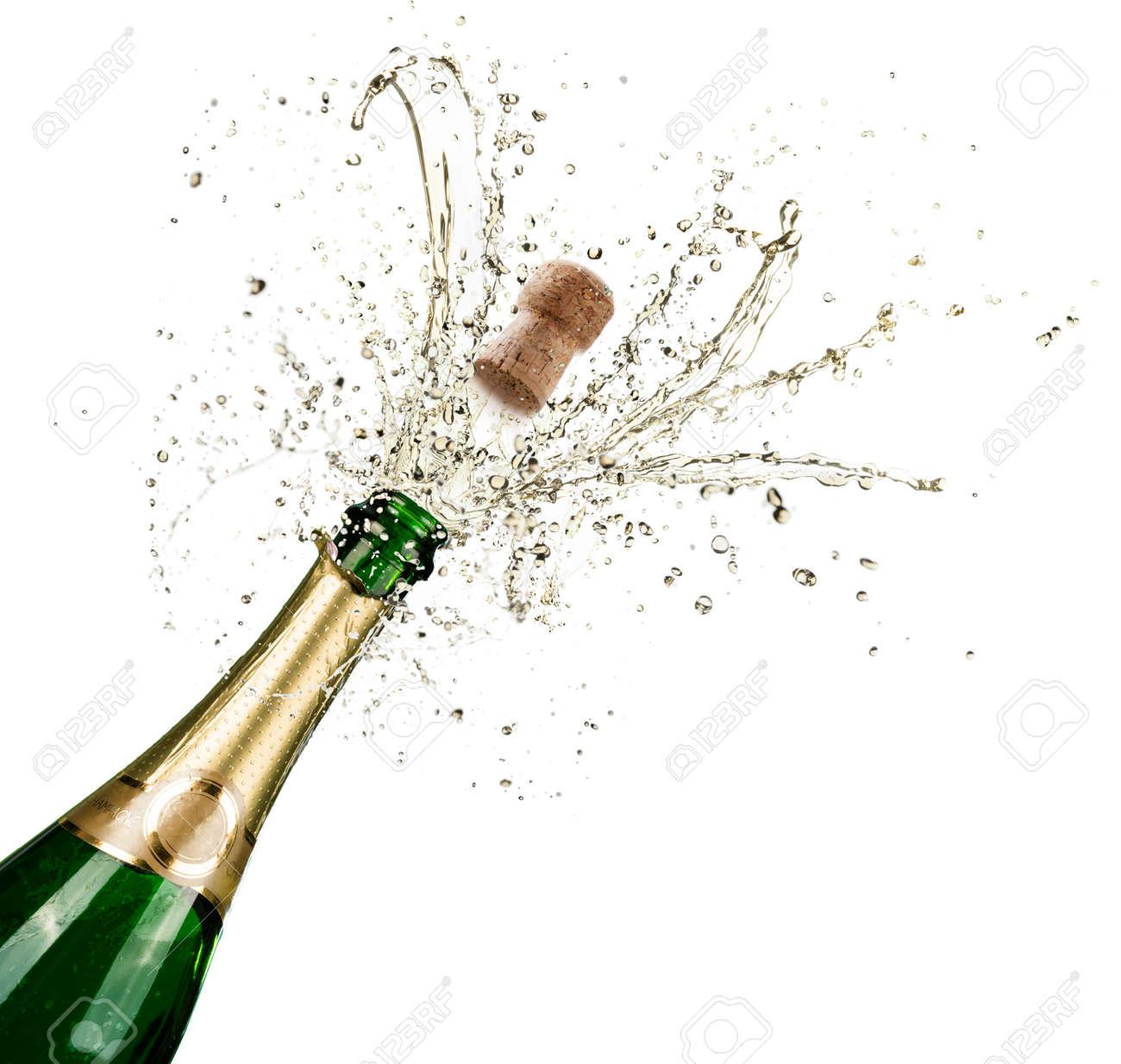 Celebration With Splashes Of Champagne - 90956438