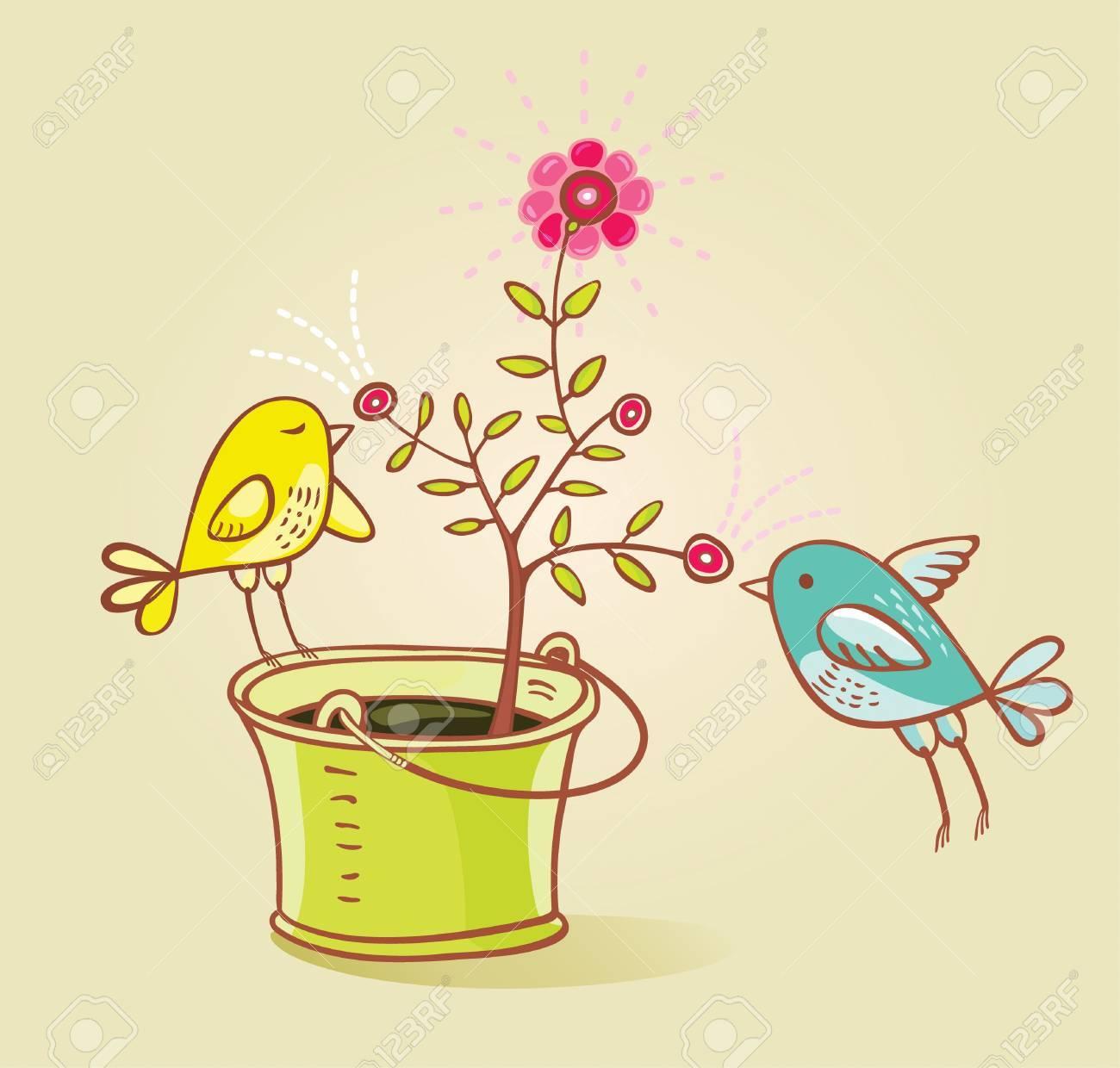 two birds - 4640444
