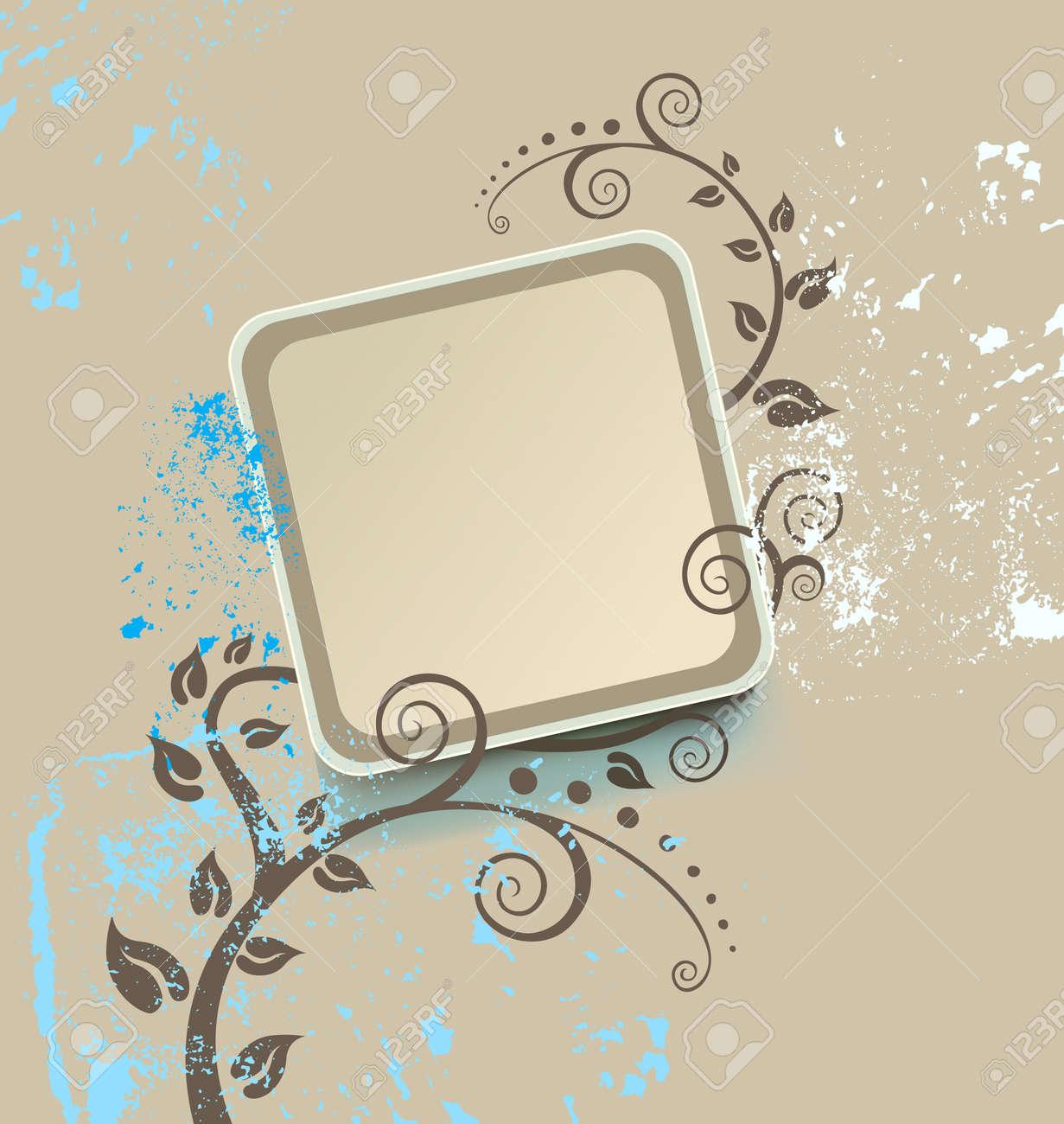 vintage frame - 5125924