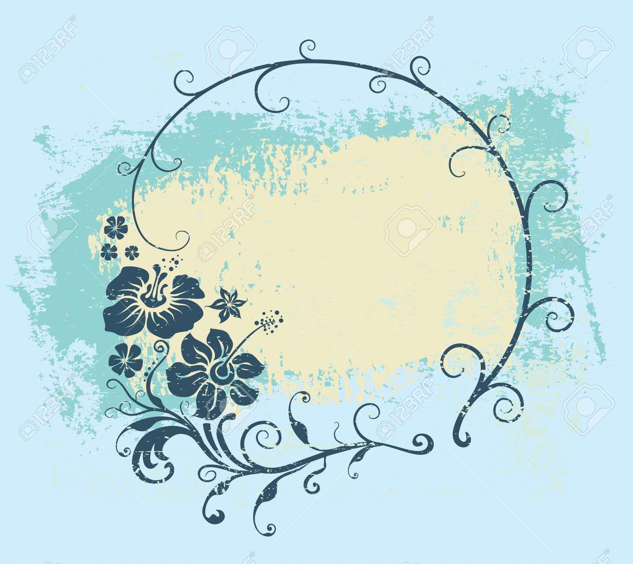 floral frame - 5125936