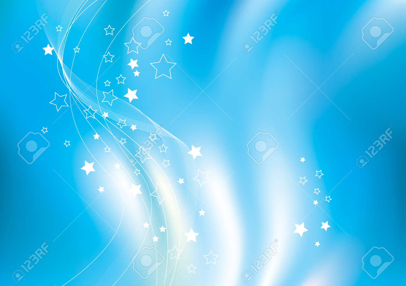 abstract vector blue background - 5125932