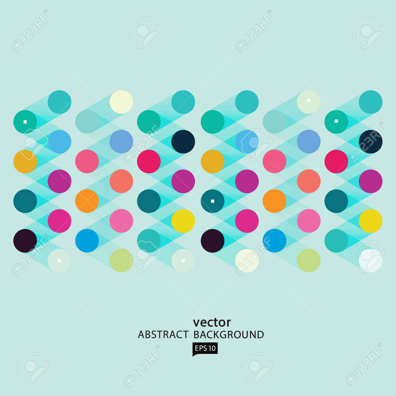 Vector Abstract Geometric Polygon Background - 38662575