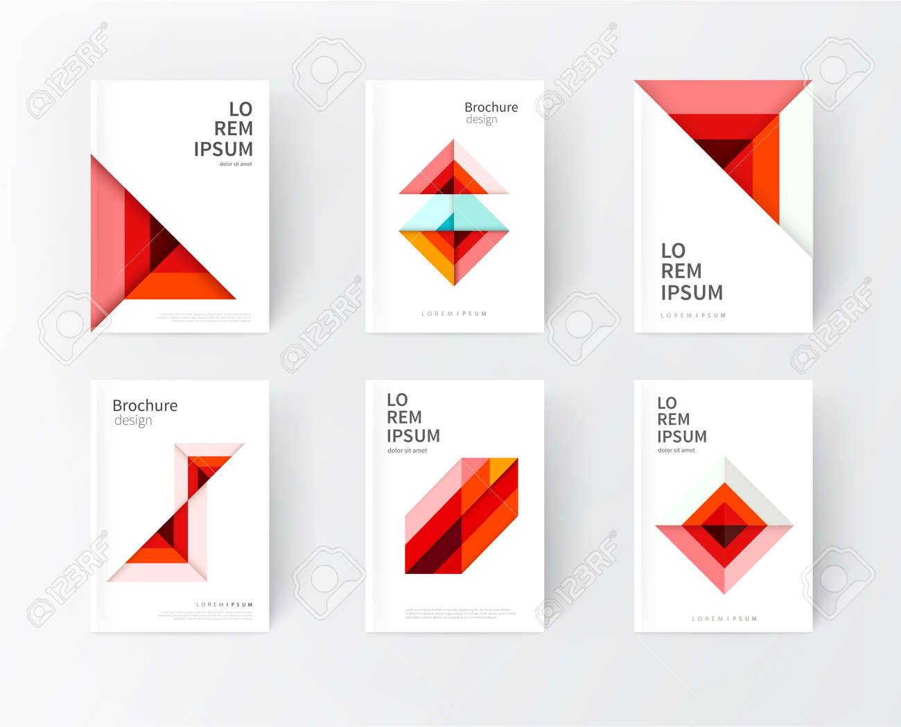 Cover Design Templates. Minimalistic Design, Creative Concept ...