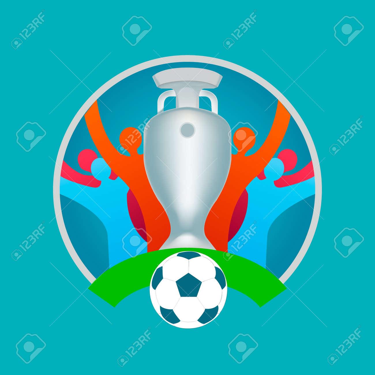 football match Sports concept tournament background. - 170287704