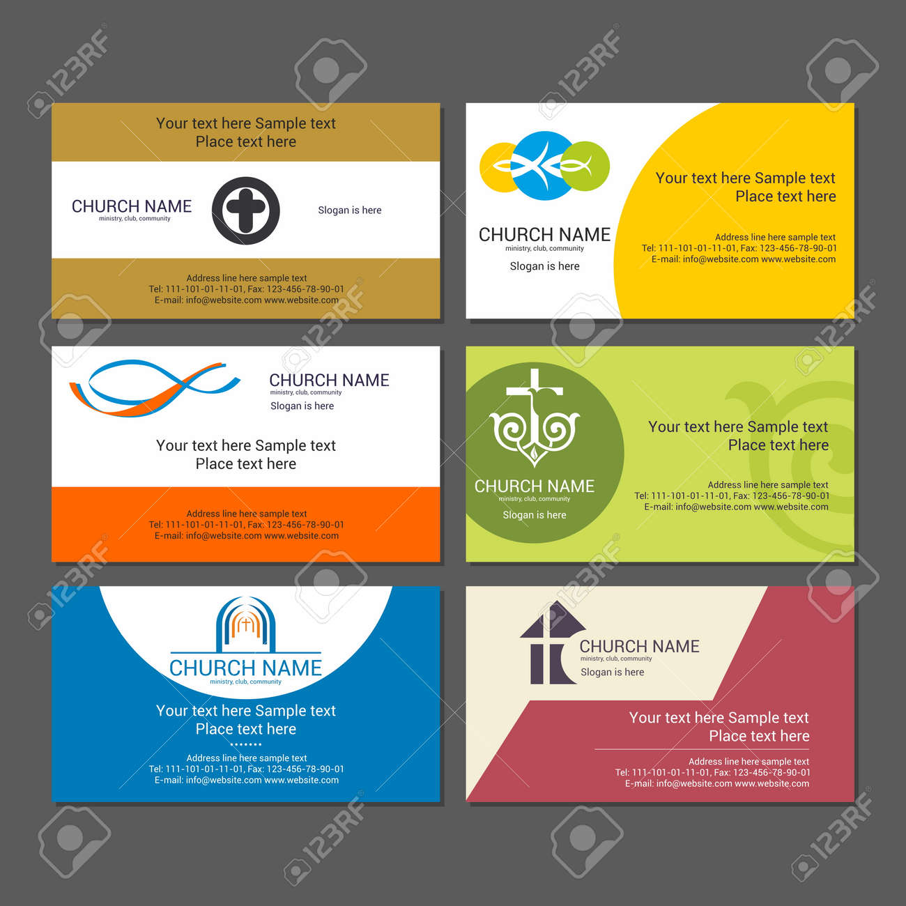 Set christian business cards for the church the ministry the set christian business cards for the church the ministry the club and the cheaphphosting Choice Image