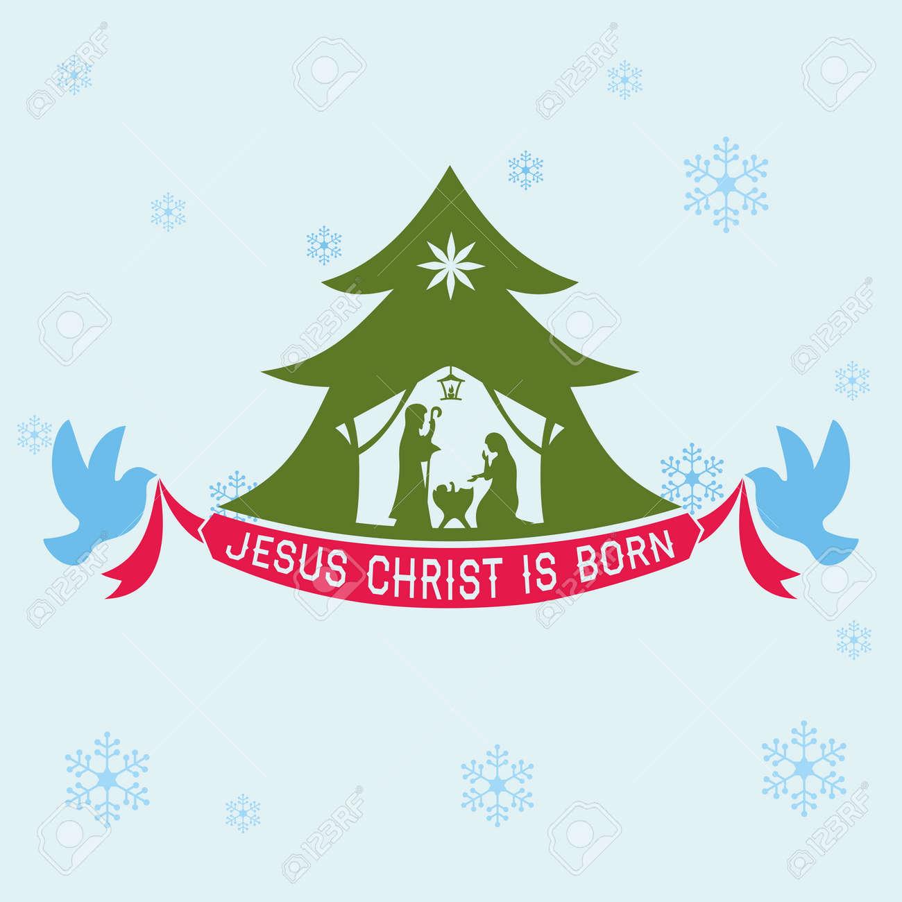 Merry Christmas Jesus.Merry Christmas Jesus Christ Is Born