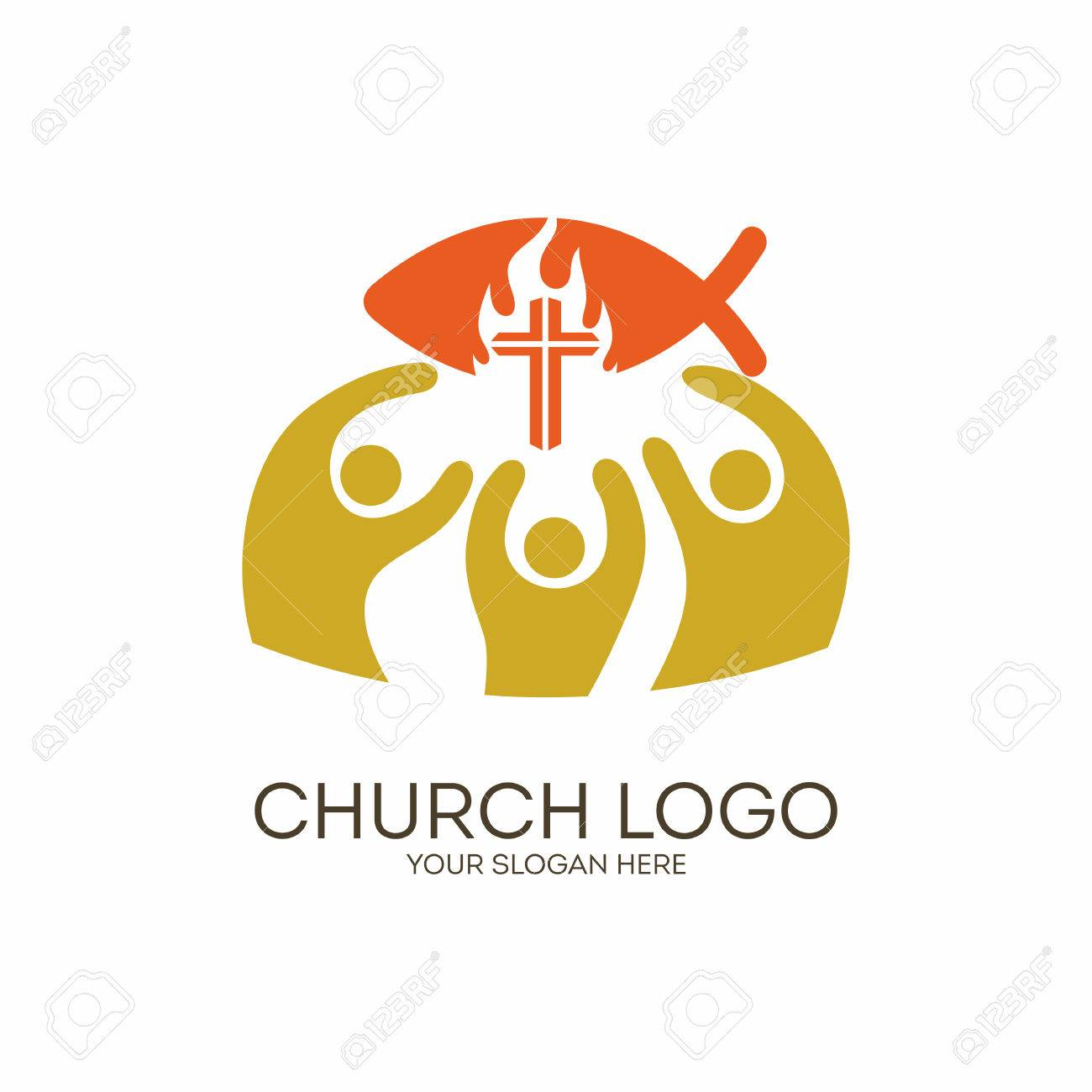 Church christian symbols unity in jesus christ royalty free christian symbols unity in jesus christ stock vector 62147384 buycottarizona Image collections