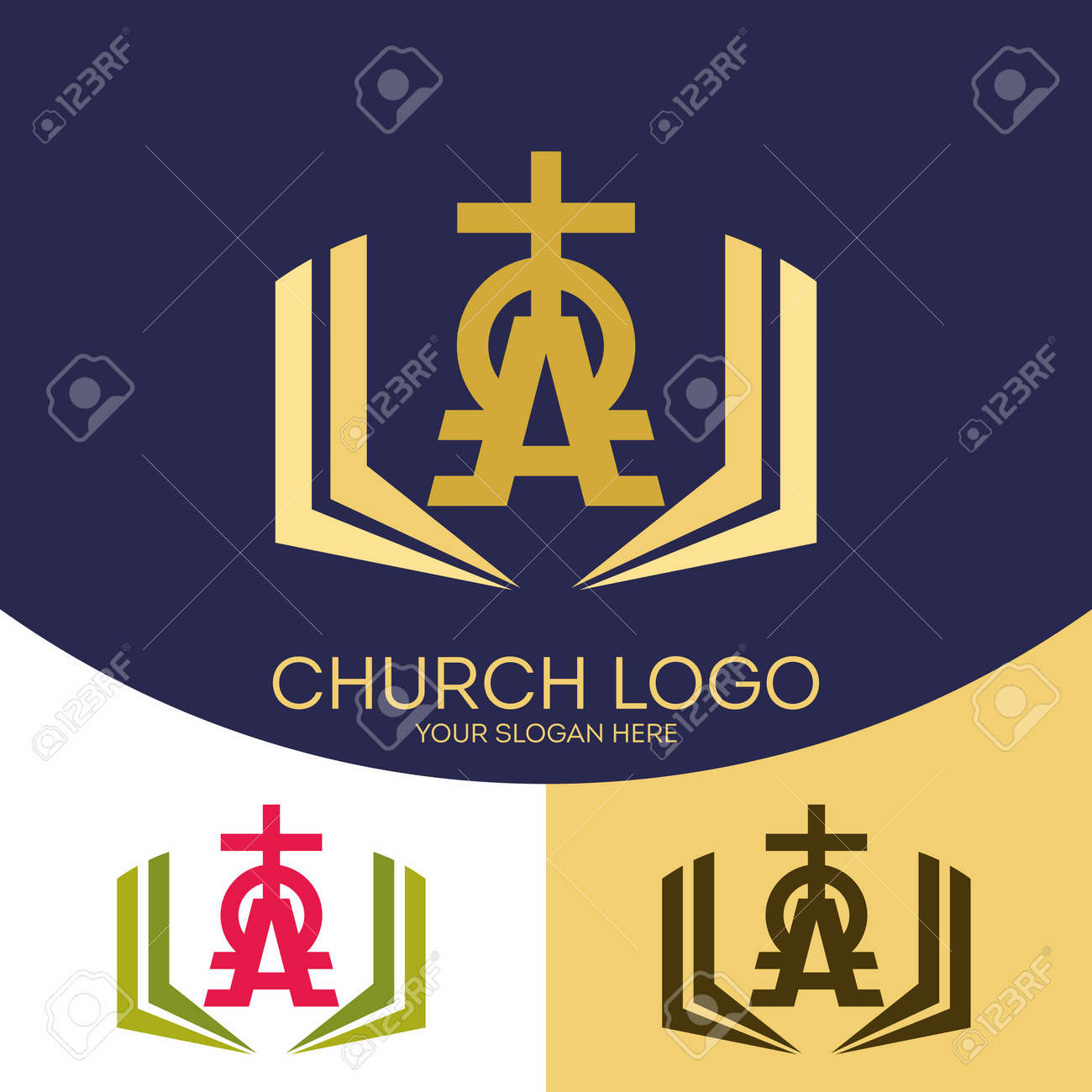 Church logo christian symbols the cross of jesus christ the church logo christian symbols the cross of jesus christ the holy bible and buycottarizona