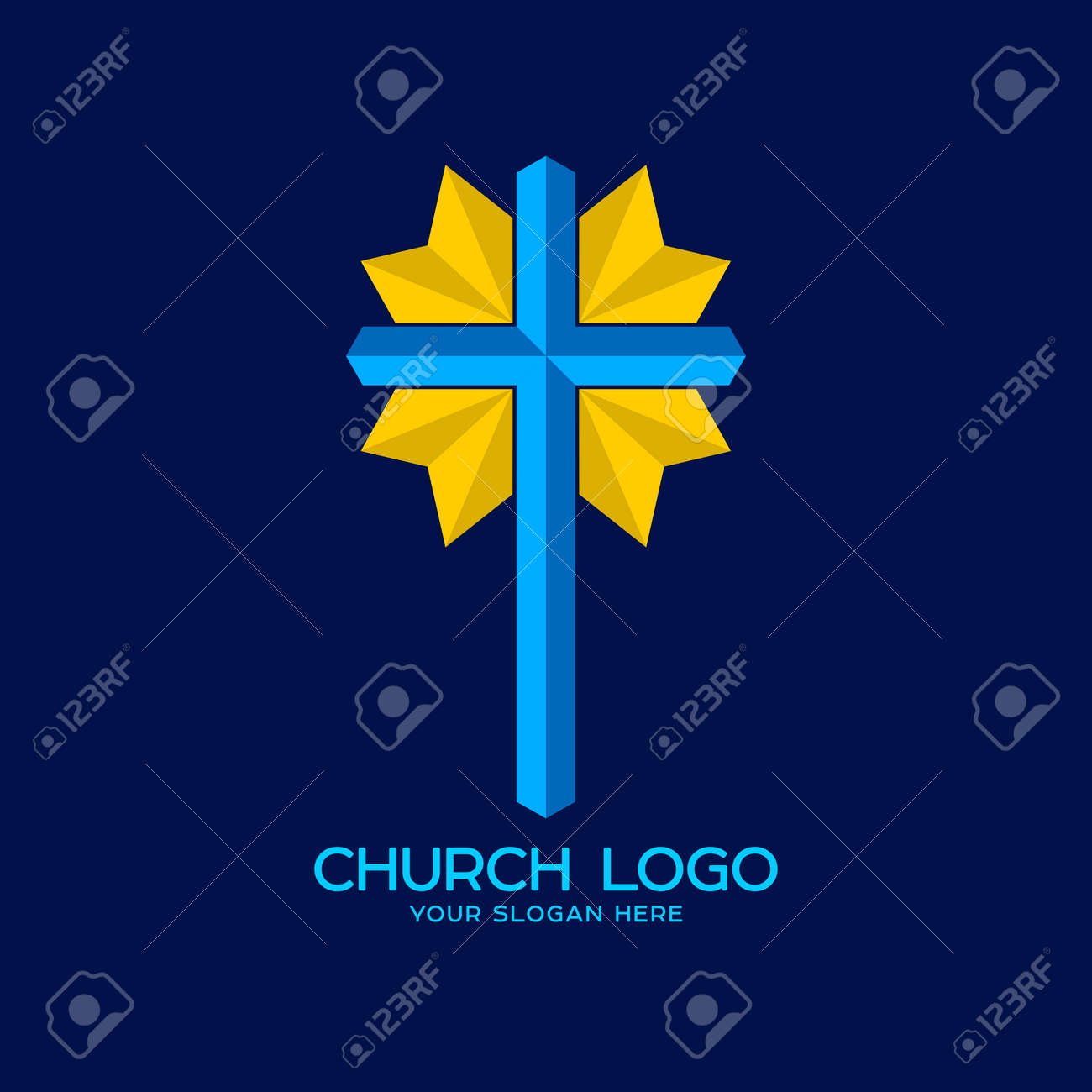 Church logo christian symbols cross of the savior jesus christ church logo christian symbols cross of the savior jesus christ stock vector 81890640 buycottarizona Image collections