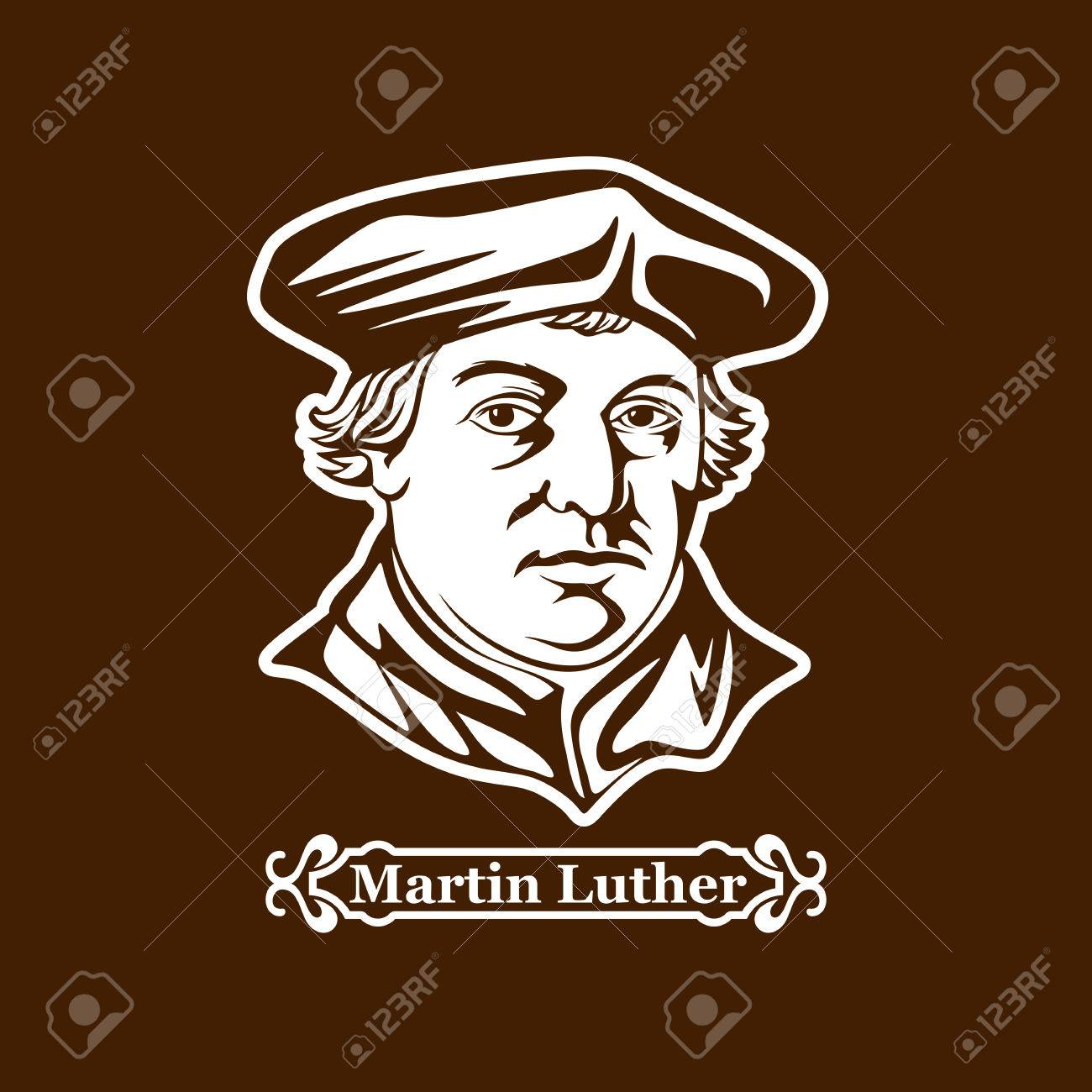 Martin Luther. Protestantism. Leaders of the European Reformation. - 87349279