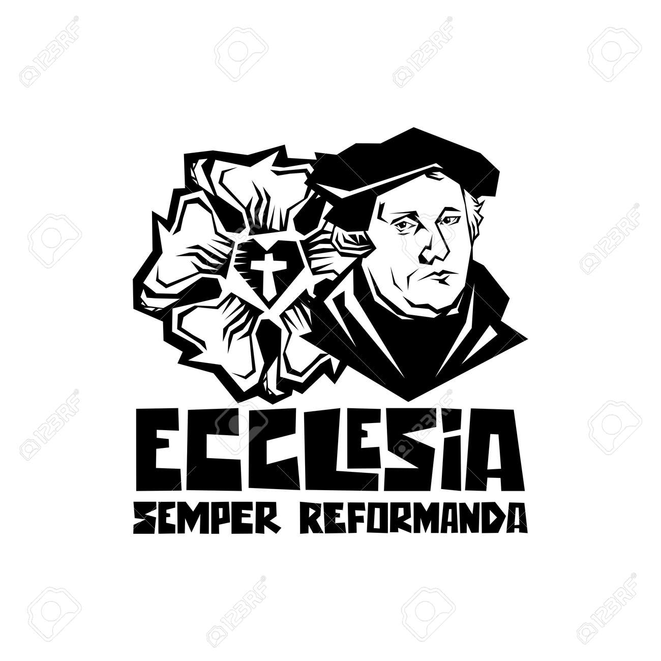 Martin Luther. 95 theses of the reformation of the church. Wittenberg 1517. - 166673467