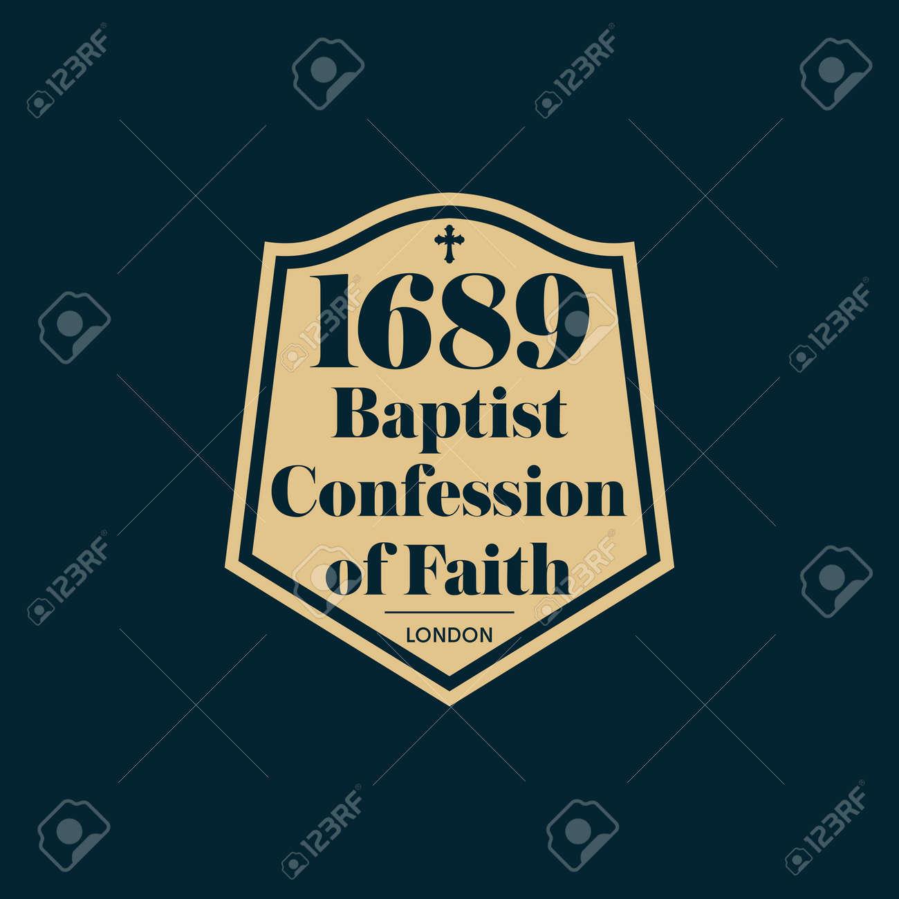 Reformed christian art. The 1689 Baptist Confession of Faith. - 166913168