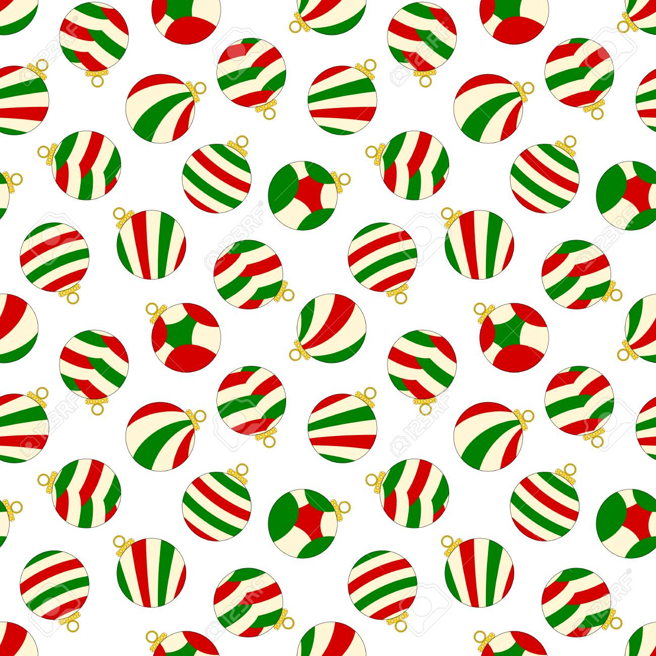 Seamless Patterns Click here to see the full collection! Christmas Ornaments