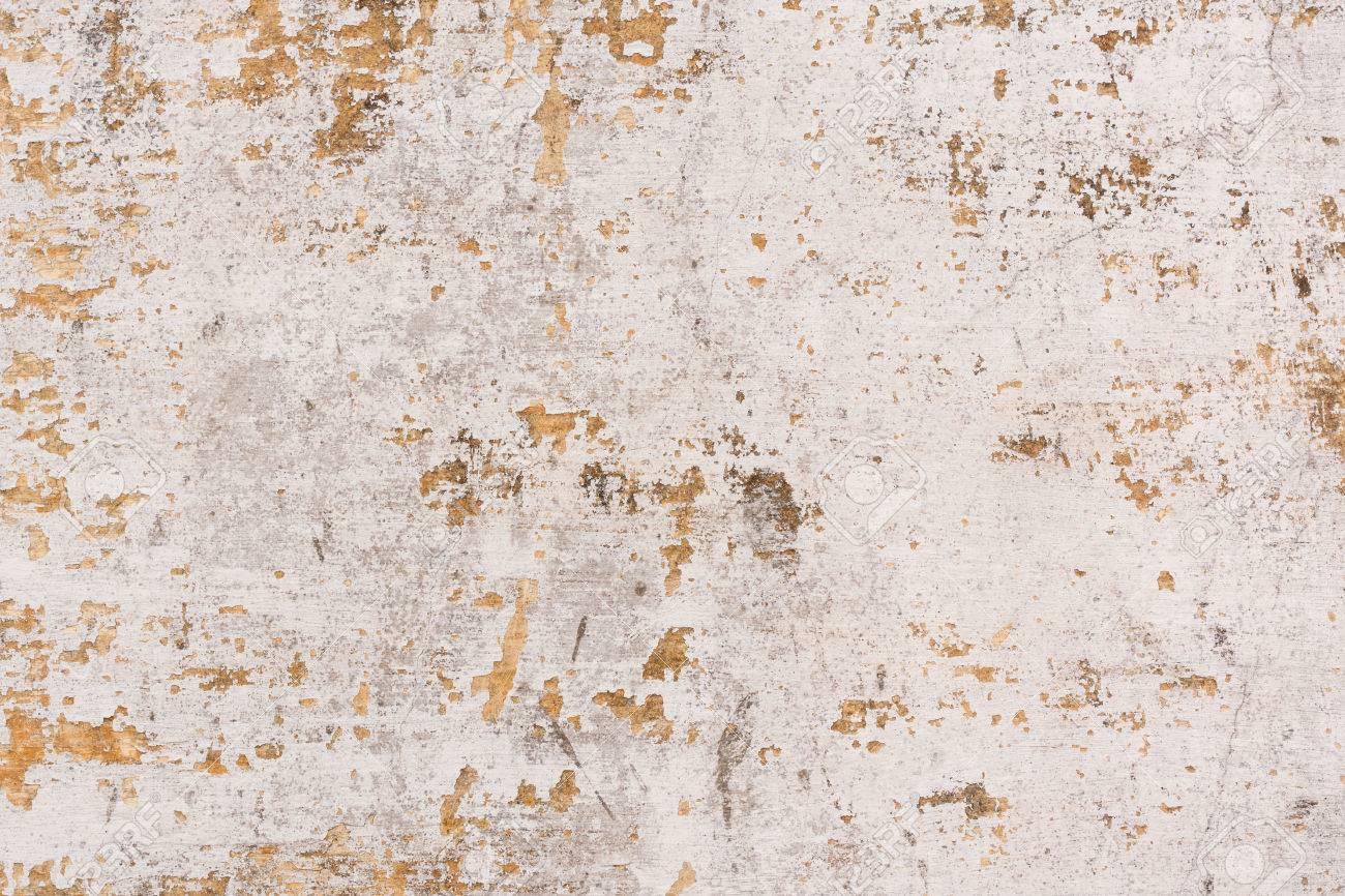 Banque Du0027images   Peinture écaillée Sur Un Fond De Mur Ancien   Ancien Mur  En Béton Plâtré Qui A La Peinture ébréchée.