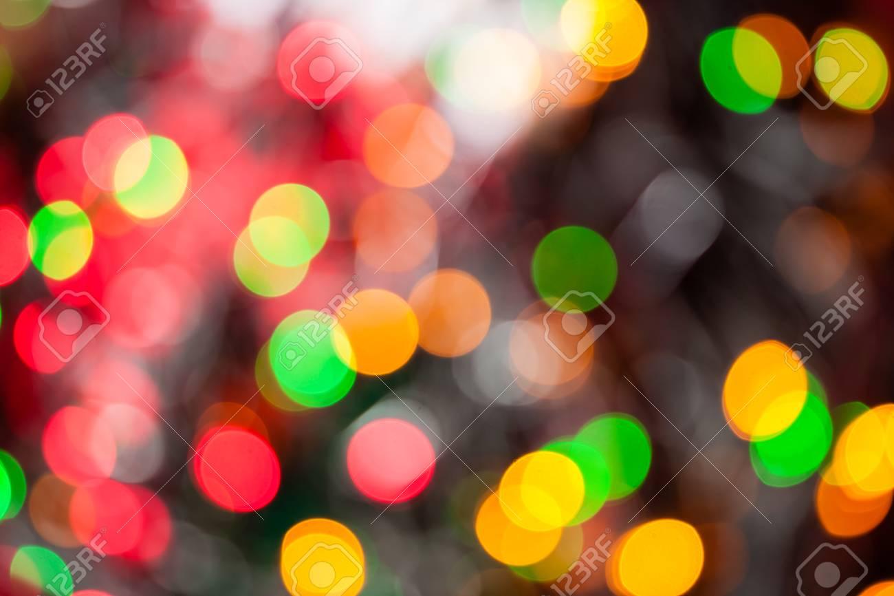 christmas lights color bokeh a bright multicolor bokeh background