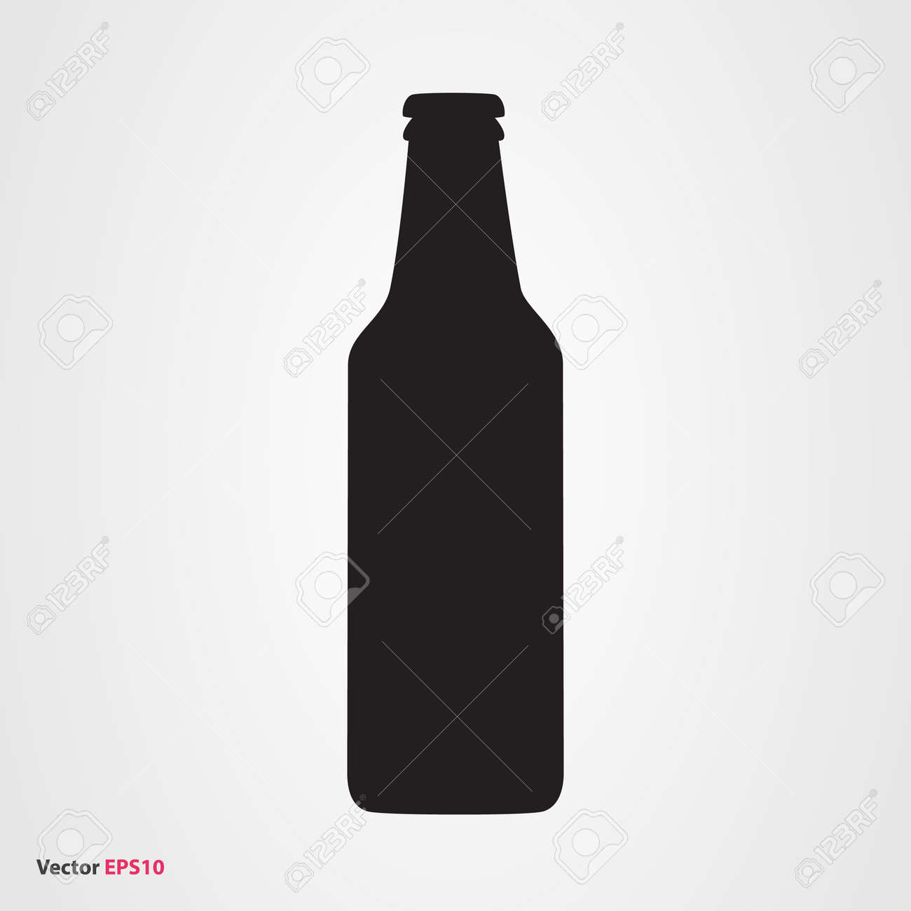 beer bottle vector icon royalty free cliparts vectors and stock rh 123rf com free vector beer bottles vector art beer bottle
