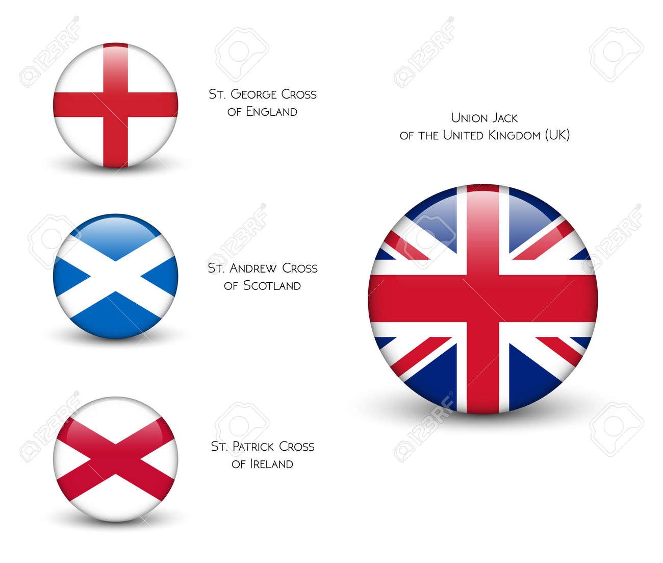 Vereinigtes Königreich Flag England Schottland Irland Union Jack