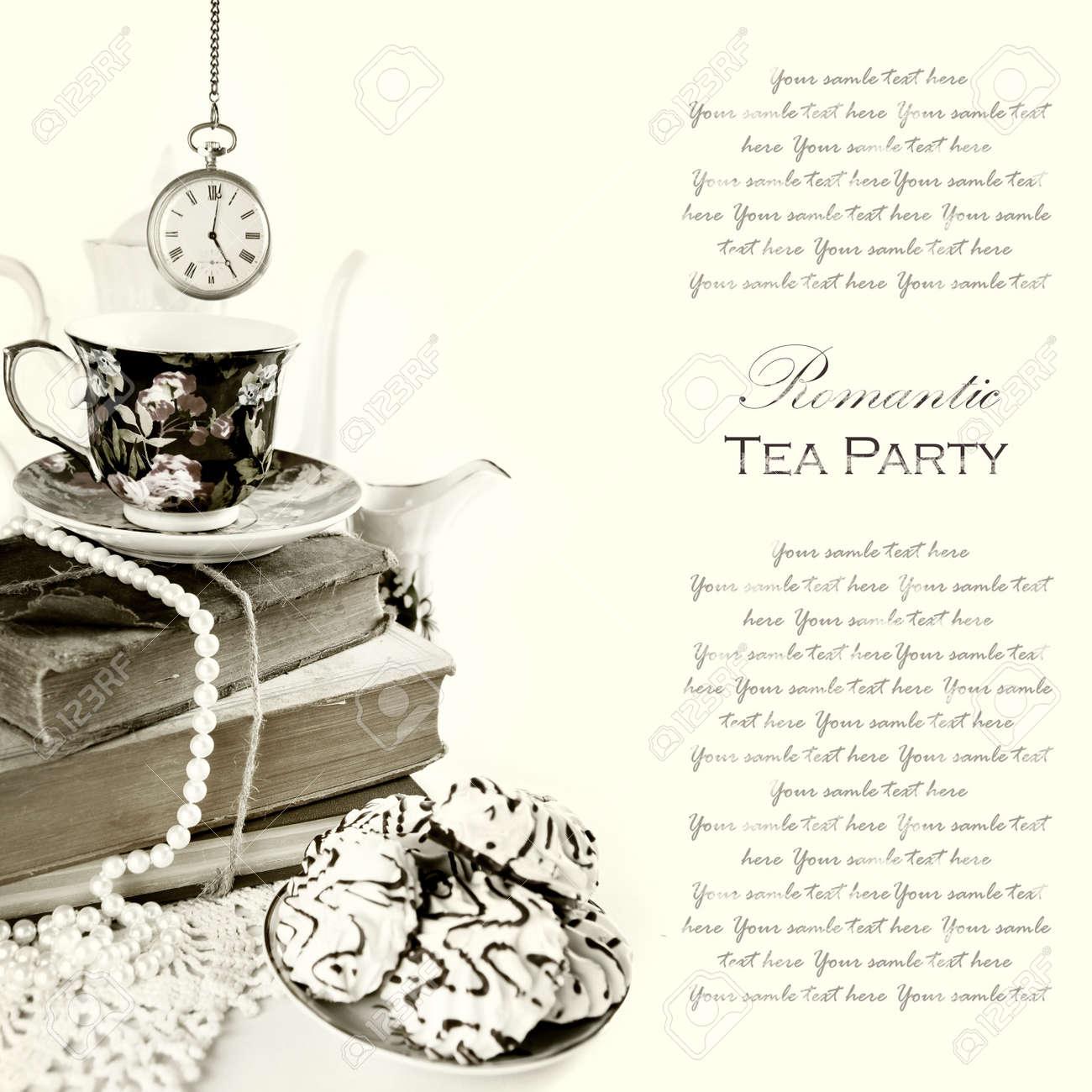 Tea party background royalty free stock photo image 28839215 - Jpg 1300x1300 English Tea Party Background