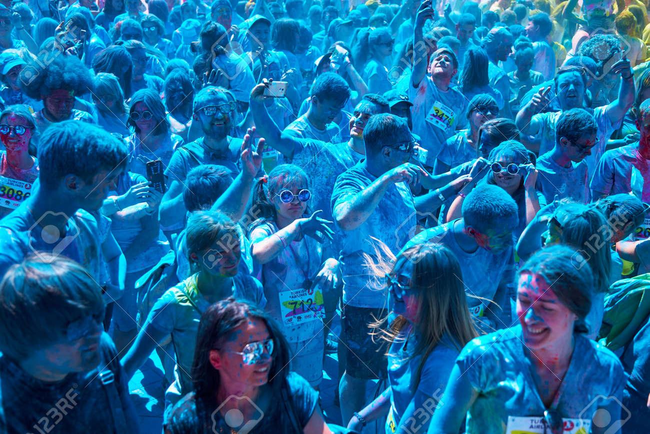 ukraine kiev june 10 2018 was the fifth anniversary kyiv color