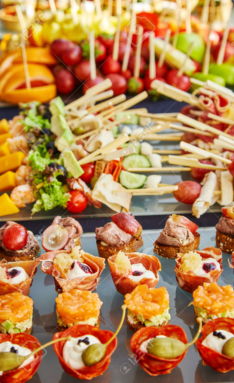 Awesome A Lot Of Delicious Food On The Table Buffet Feast Download Free Architecture Designs Scobabritishbridgeorg