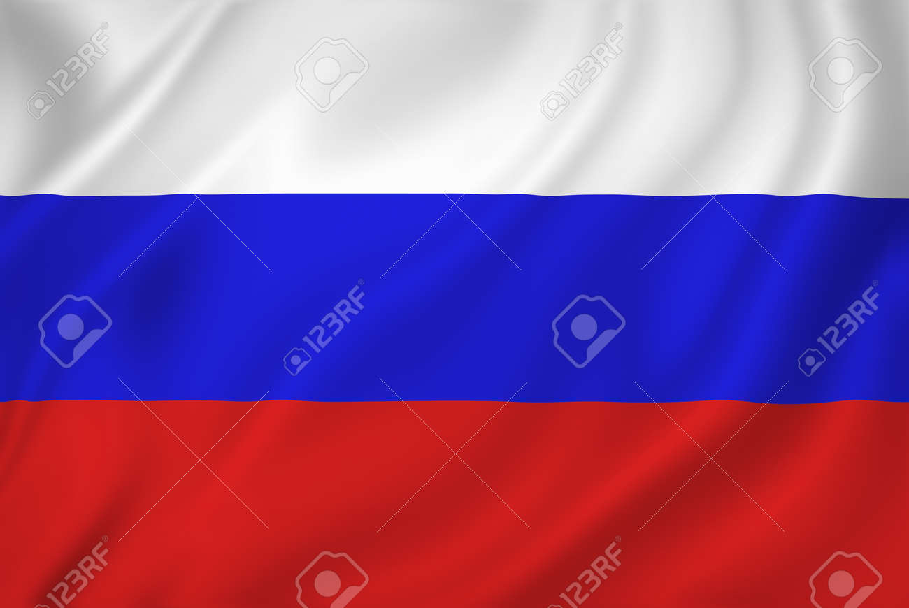Russia national flag background texture. - 26448949