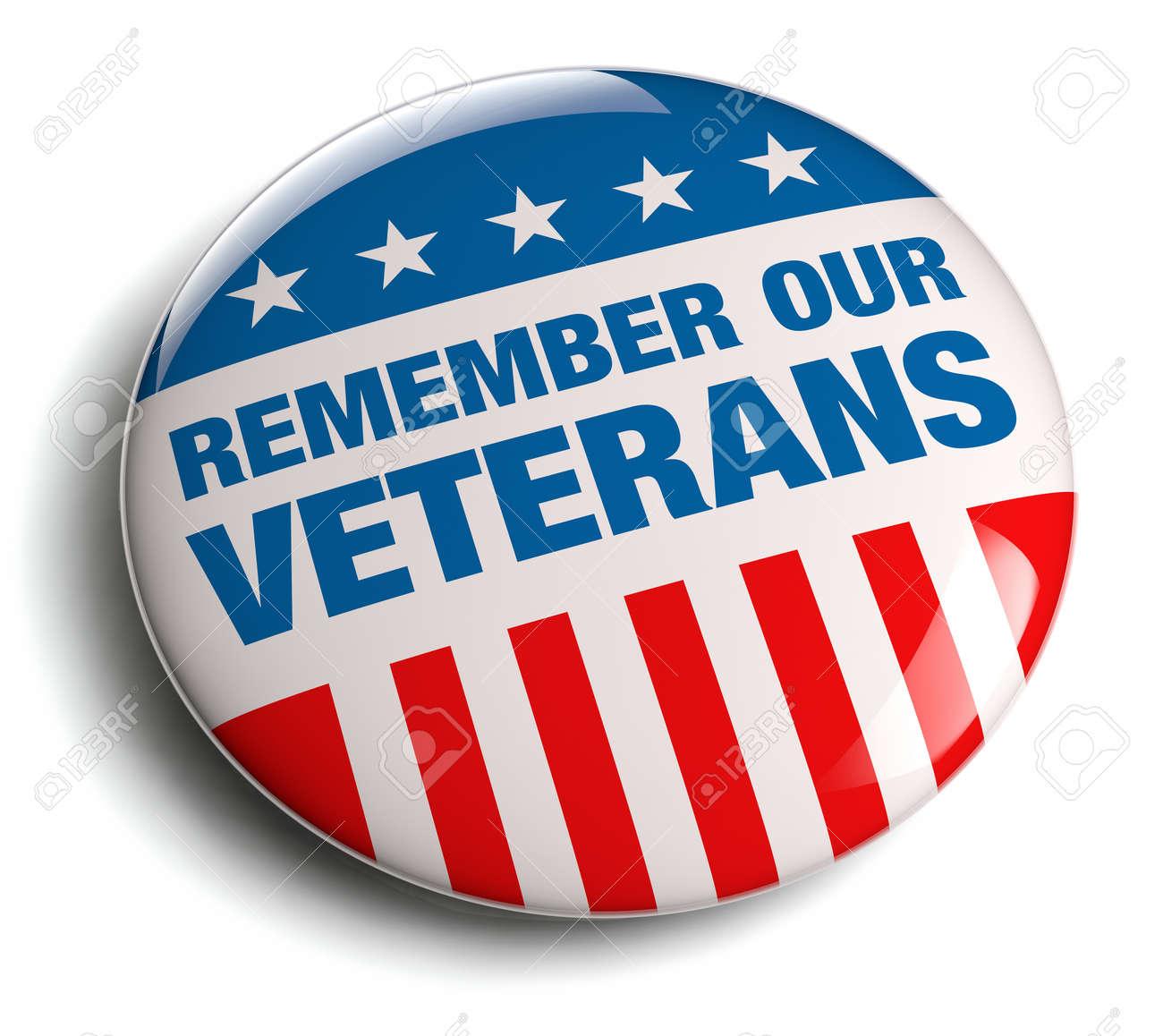 Veterans Day / Memorial Day badge. - 27545399