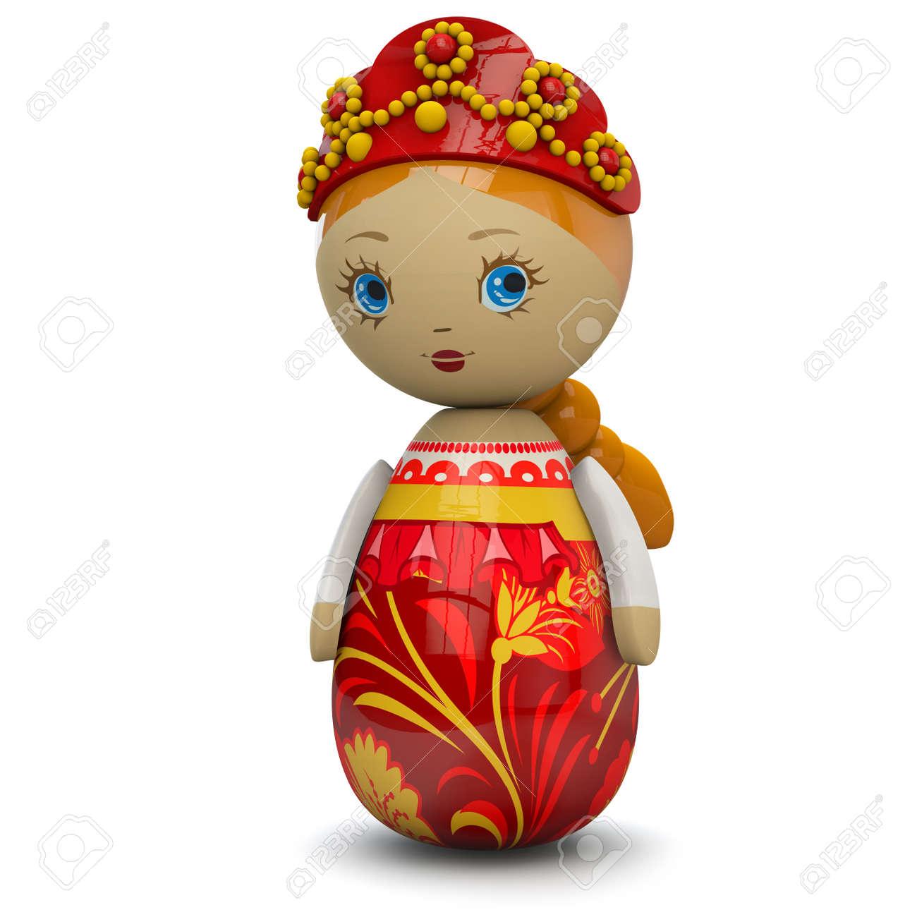 orientale legno o di di ragazza bambola Giocattolo Im russa europea CQsrhtBdx