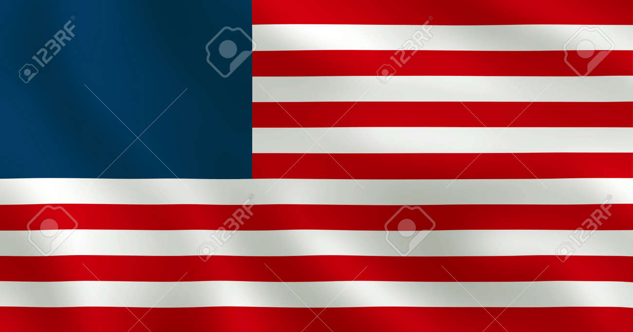 American Flag Without Stars - USA Banner Image - 146972572