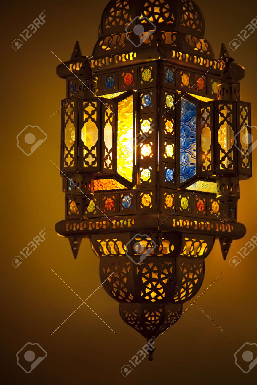 Moroccan Lantern Stock Photo Picture And Royalty Free Image Image 10085281