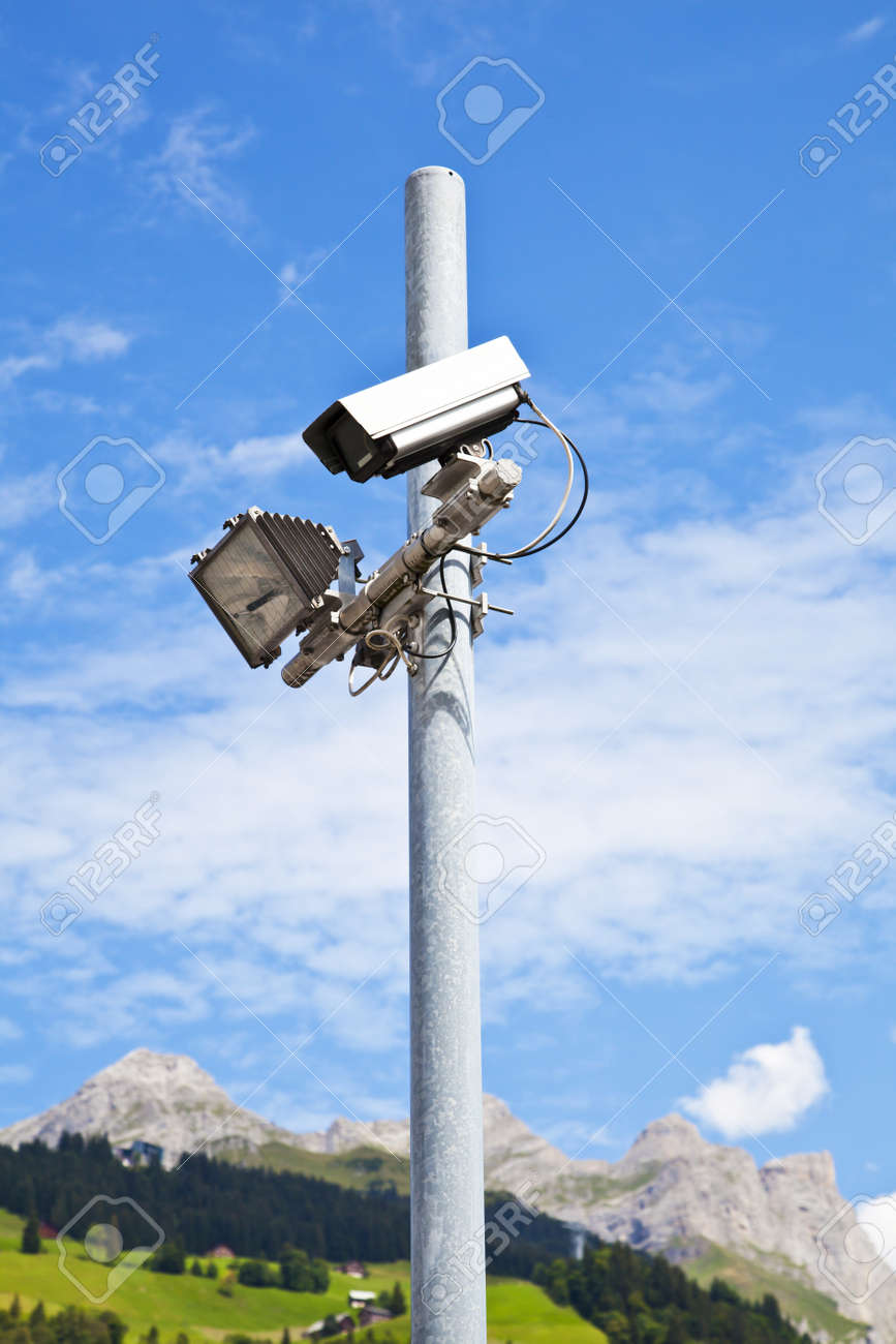 Security Equipment in a Nature Resort Stock Photo - 10930035