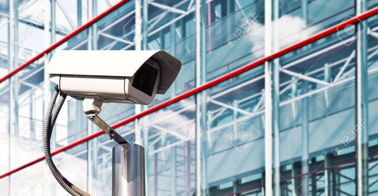 Security Camera in a Modern Office Stock Photo - 14198098