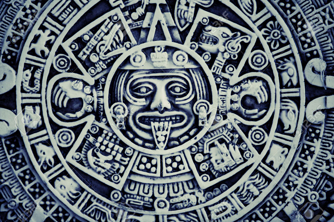 aztec calendar stock photos royalty free aztec calendar images