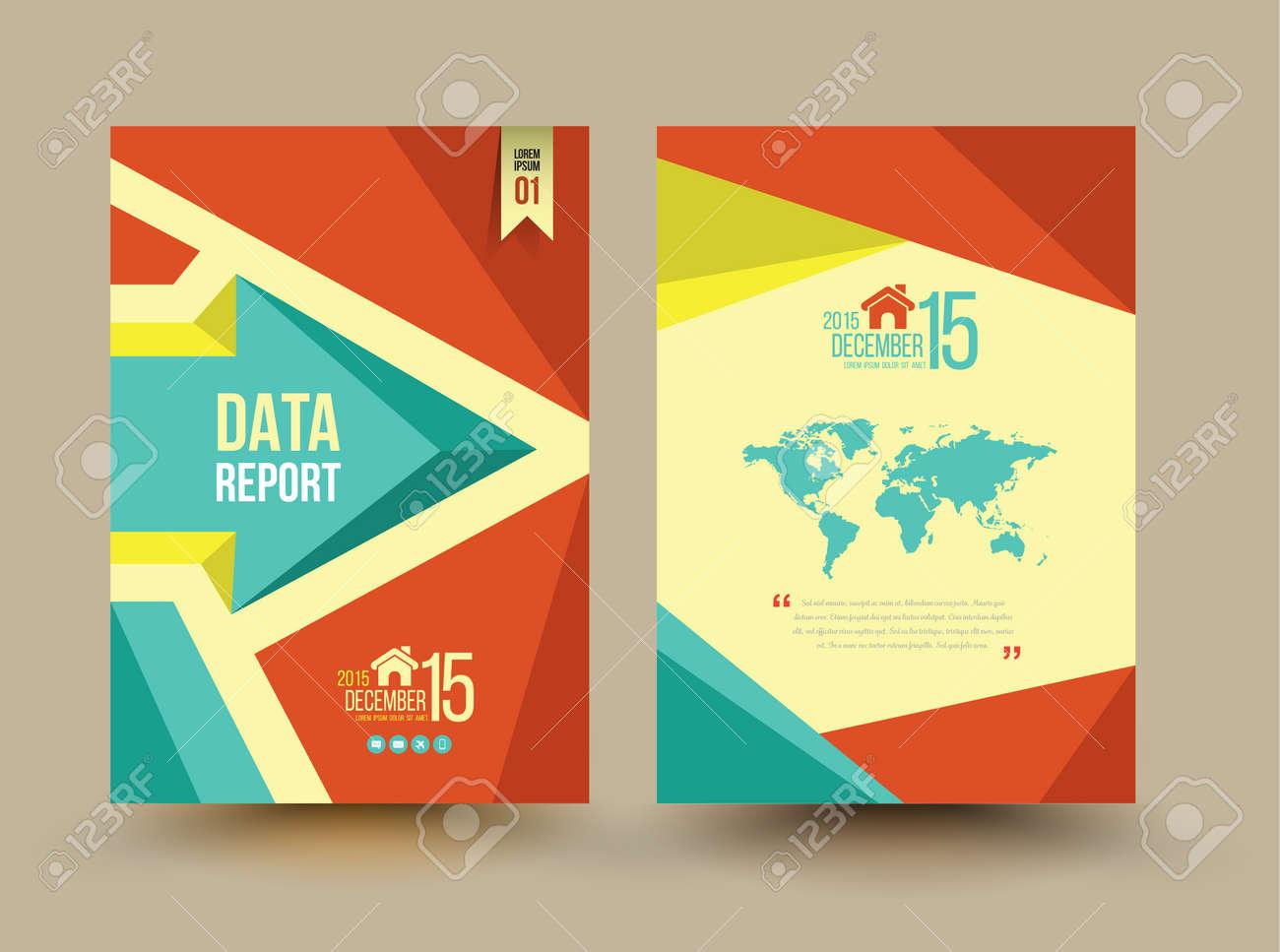 Vector Brochure Template Design Business Graphics Brochures