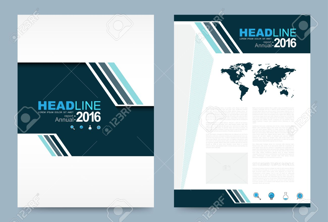 vector cover design template simply and elegant style can use