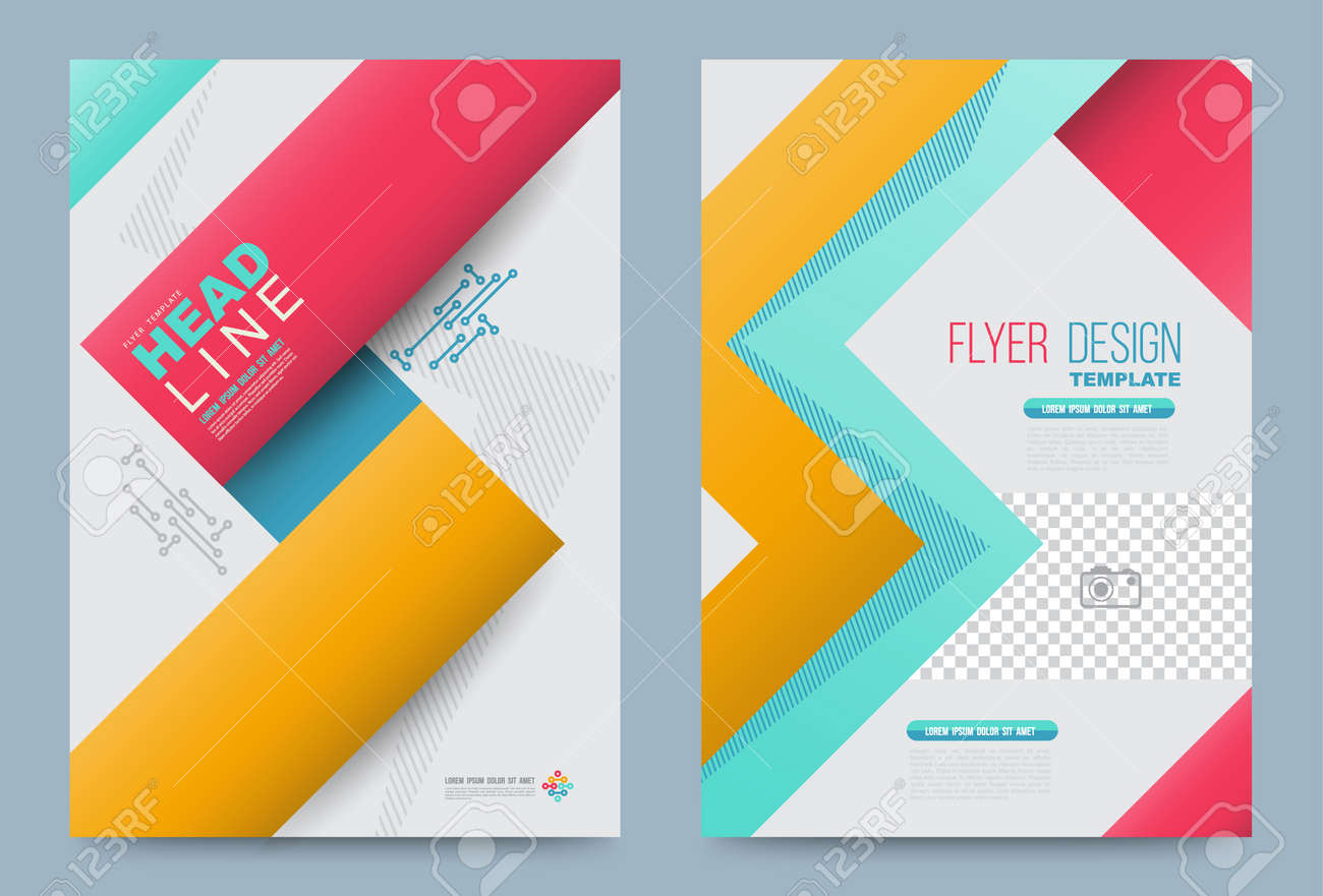 vector vector cover design template simply and elegant style can use for flyer brochure annual report magazine book poster printing press and web