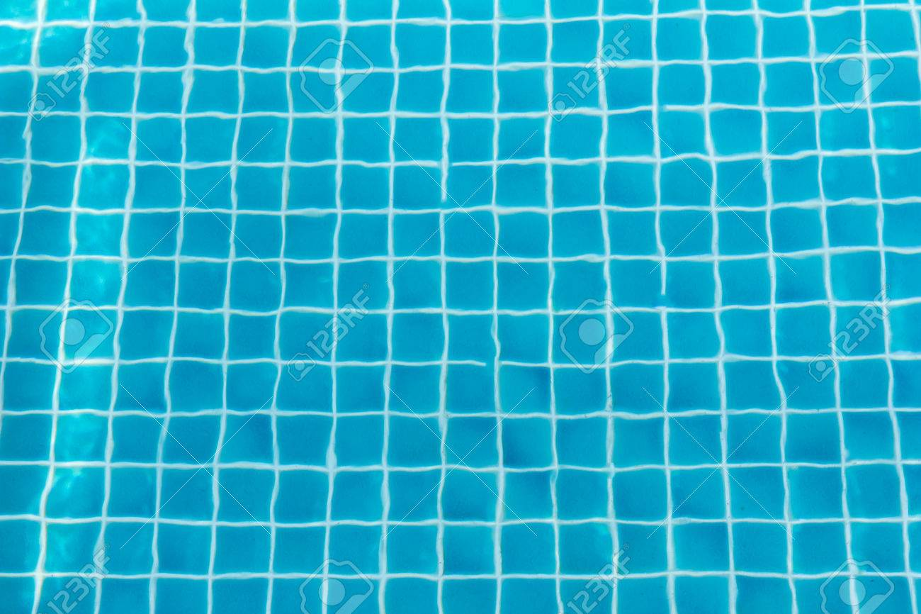 Immagini Stock Piscina Con Piastrelle Blu Turchese Può Essere