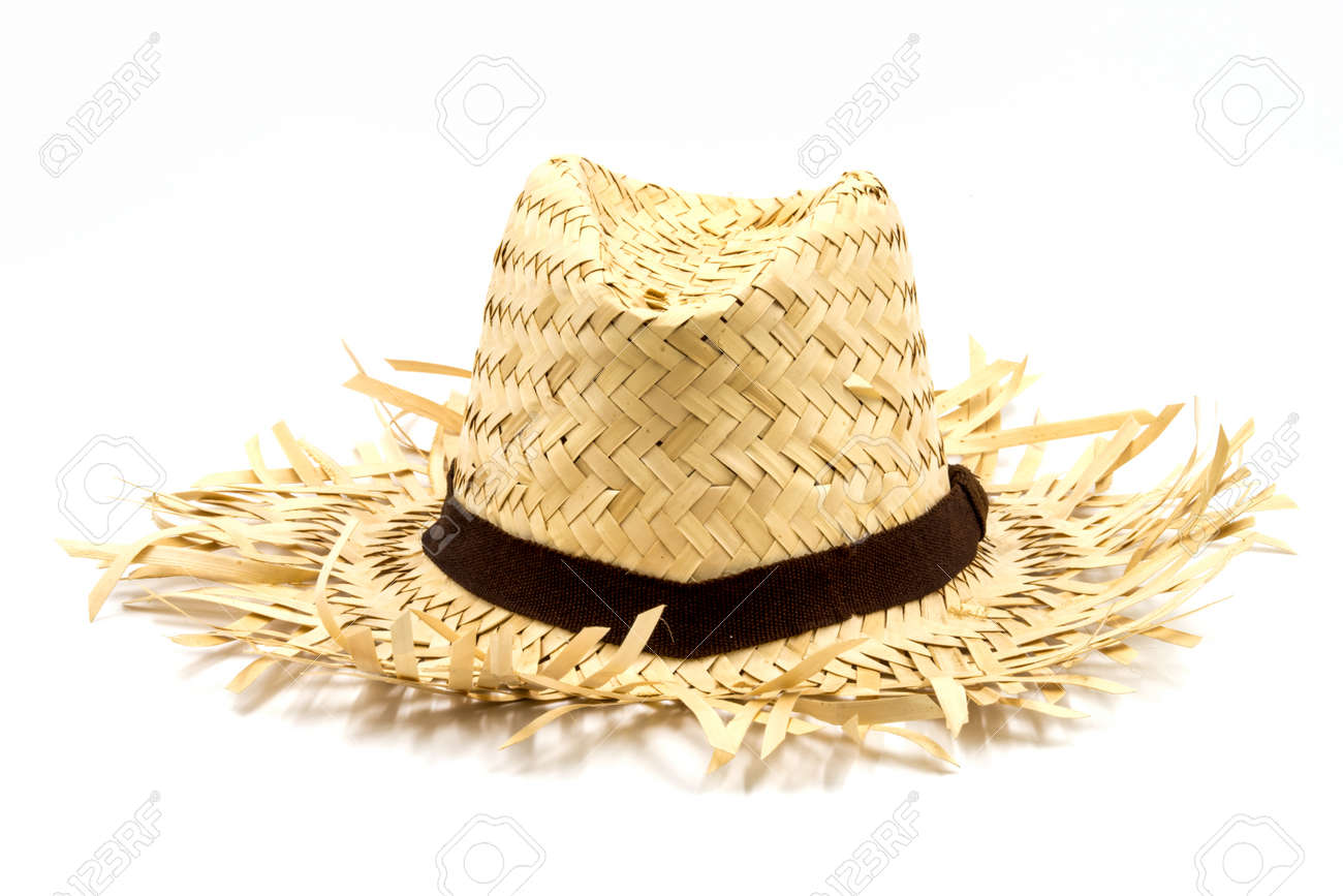 a167ad224 Straw Hat Stock Photos And Images - 123RF
