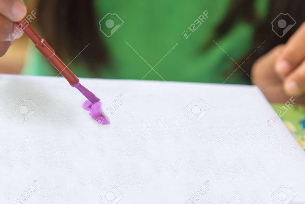 Kreative Ideen Und Lernen Bildungskonzept Kinderhände Zeichnen