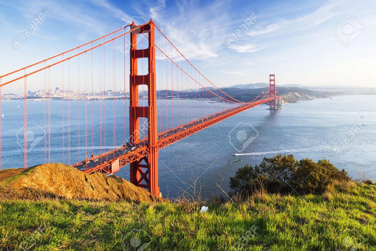 Golden Gate bridge. San Francisco, USA. Stock Photo - 11714743