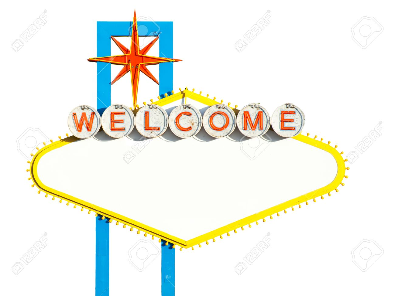 blank welcome to las vegas sign on white stock photo picture and rh 123rf com las vegas sign vector art fabulous las vegas sign vector free