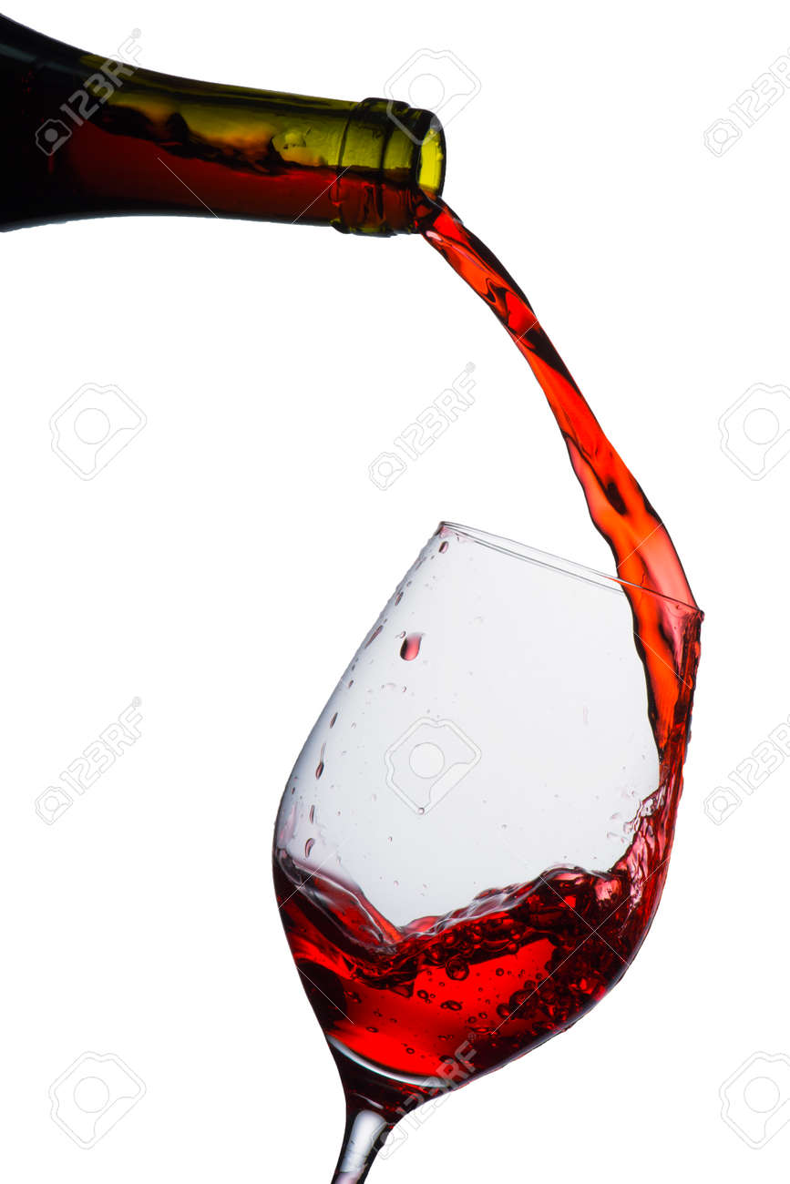 red wine pouring into glass stock photo picture and royalty free