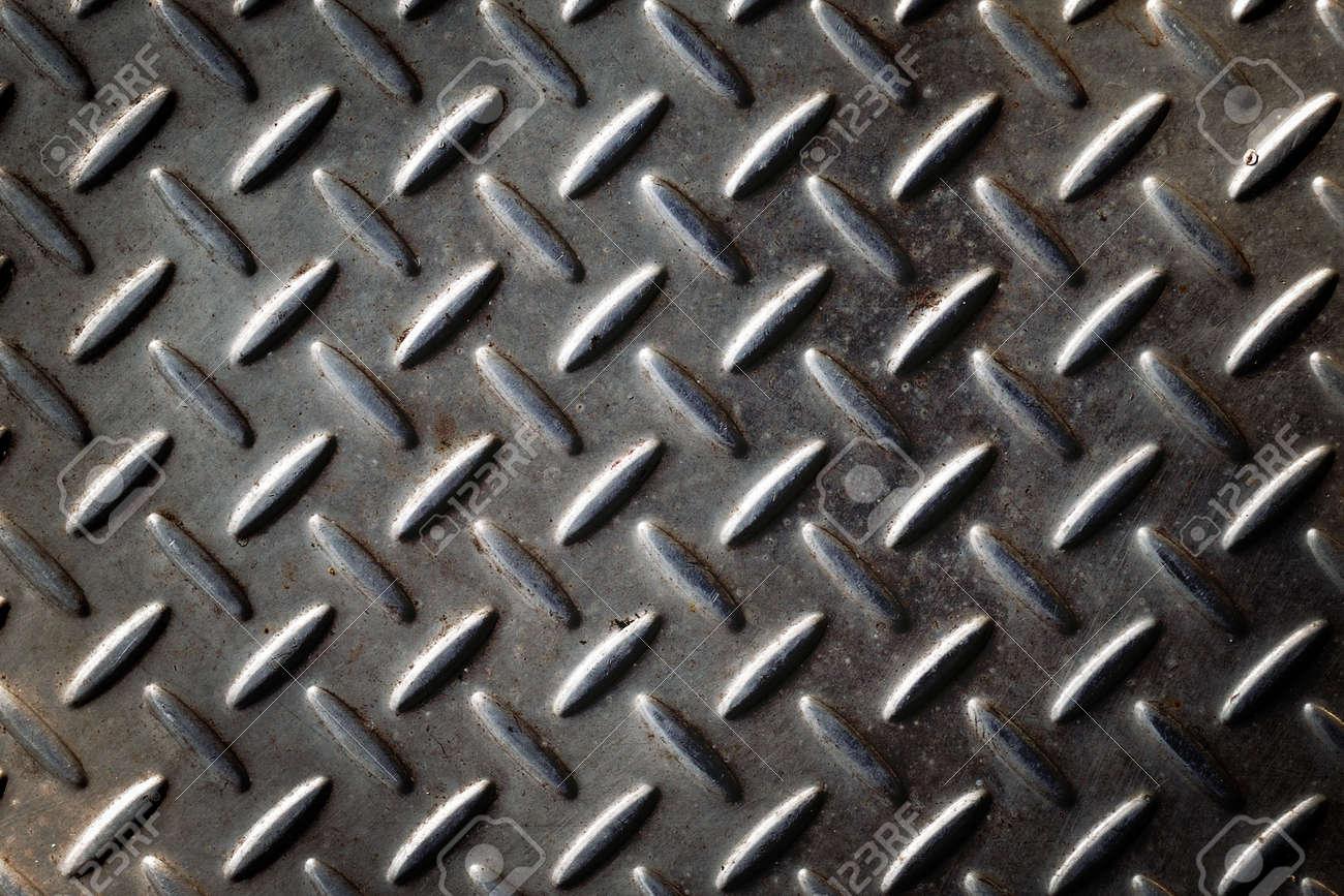 Gray Diamond Cut Metal Stock Photo - 16677434